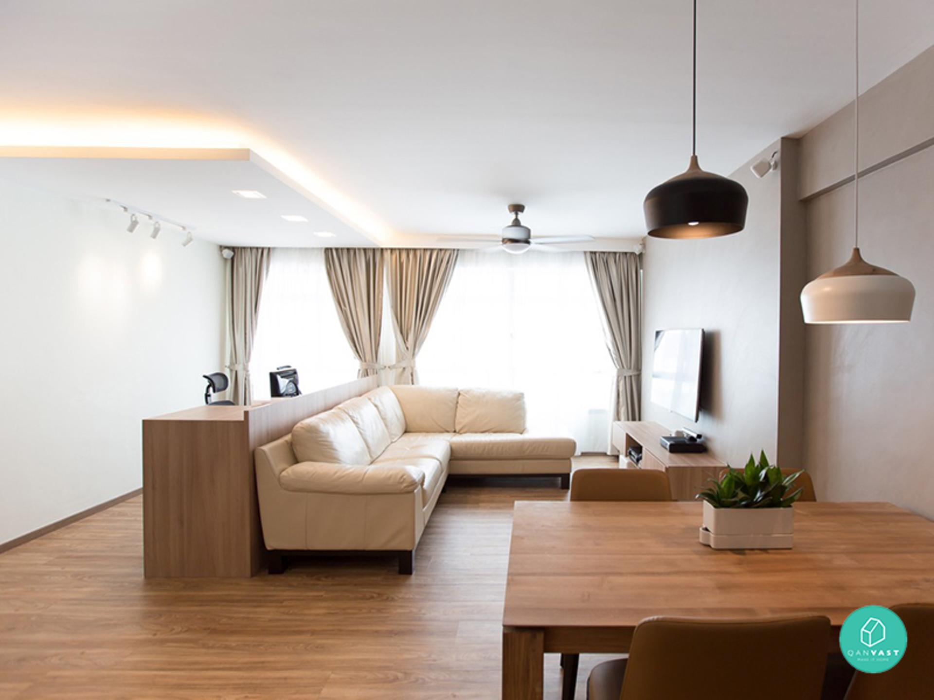 8 awesome bto interior designs that look good in any home for Interior design 5 room bto
