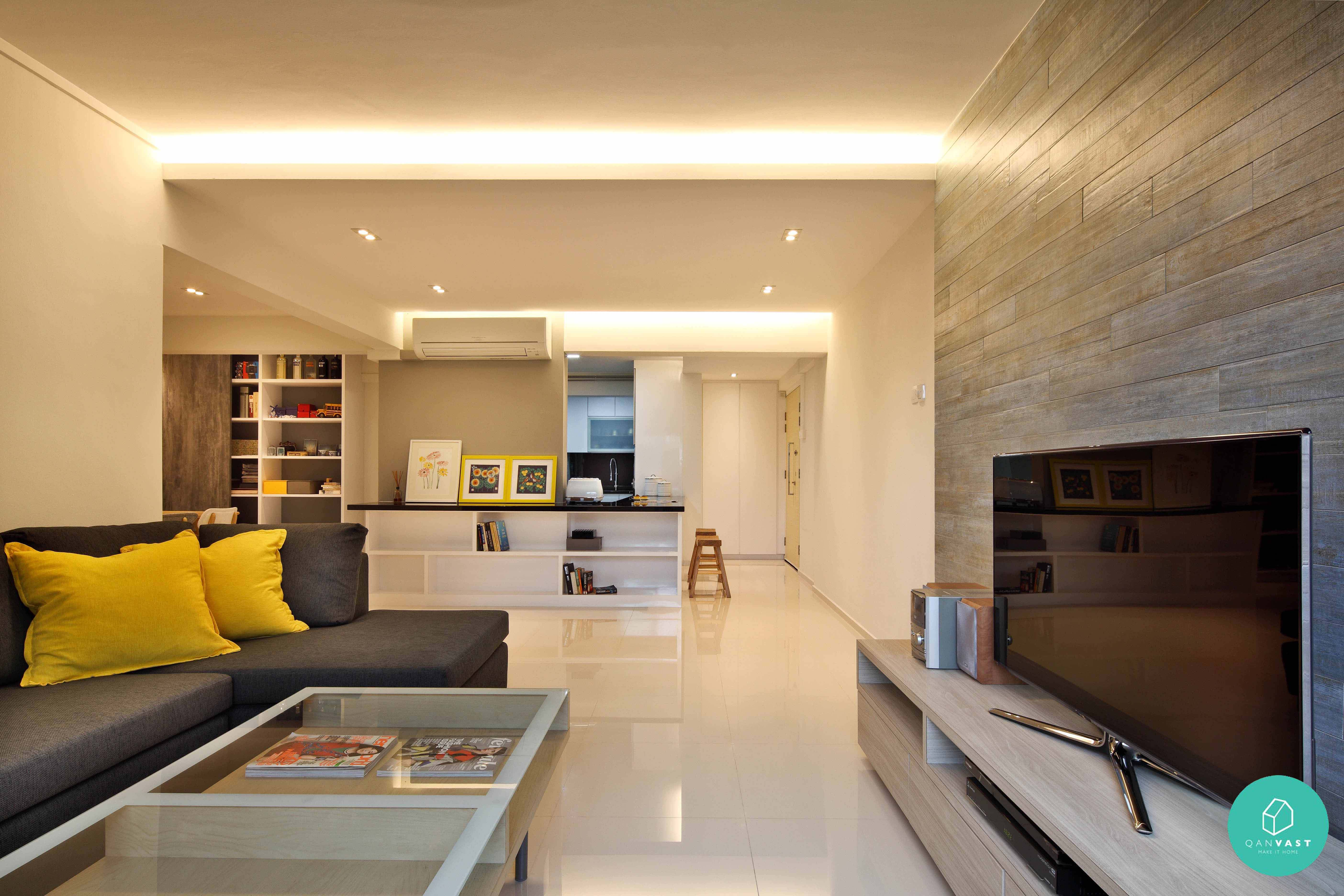 Storage wars free up space like these 10 charming homes - Condominium interior design concept ...
