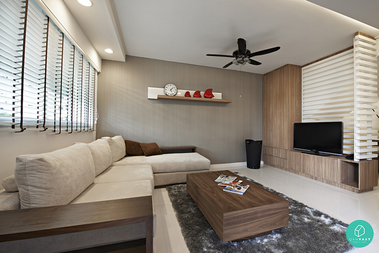 Gpgt unbelievable hdb homes every homeowner has to see for Hdb minimalist interior design