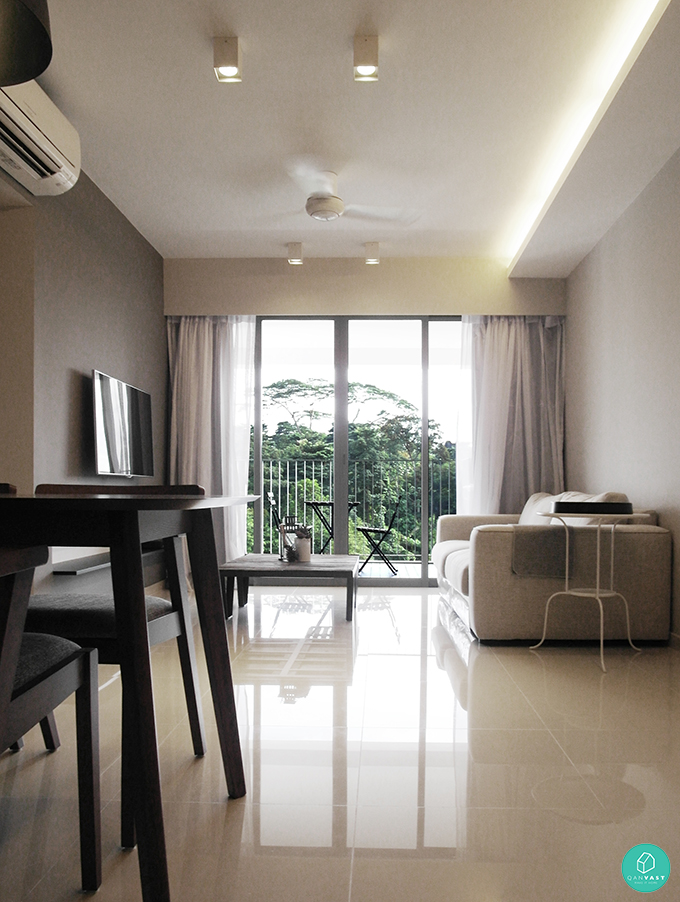 10 stylish minimalist home designs for your hdb condo for Hdb 5 room design ideas