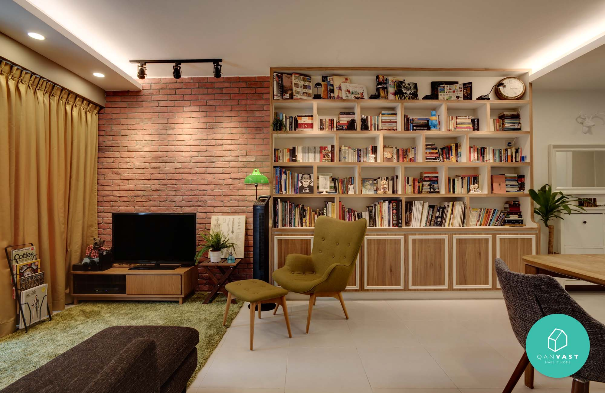 Hdb Brick Wall Design : Most voted hdb condo homes