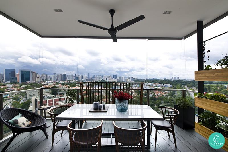 5 ideas to invigorate your hdb condo balcony for Condo balcony ideas