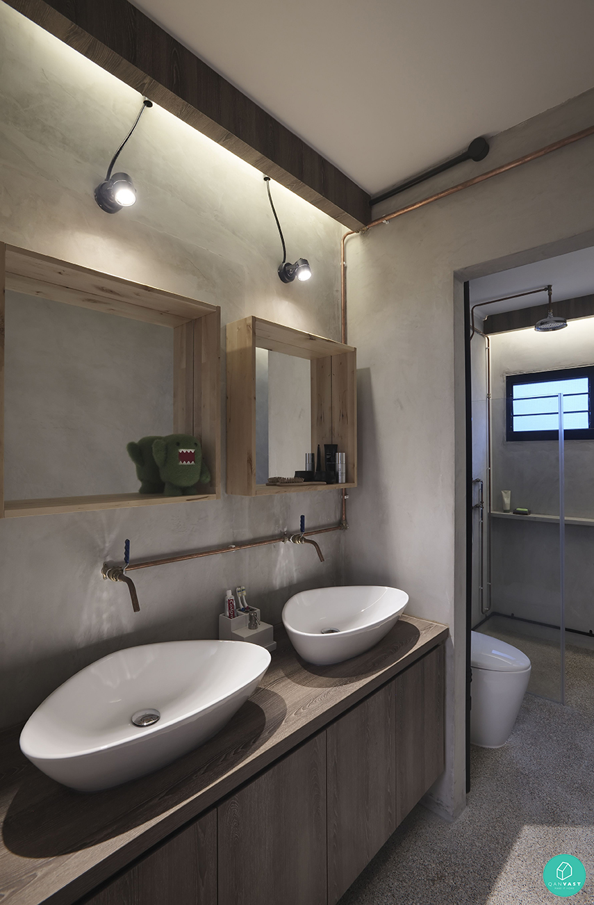 10 interesting bathroom designs for your home for Washroom style