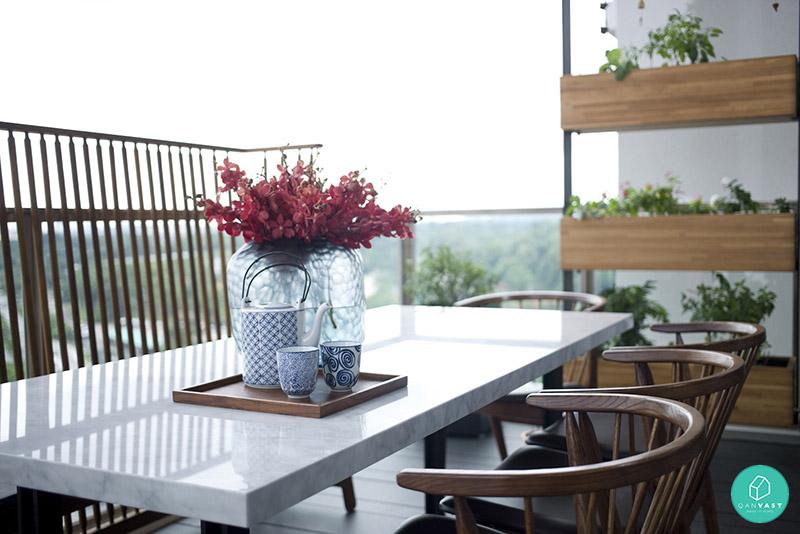 5 Ideas To Invigorate Your HDB Condo Balcony