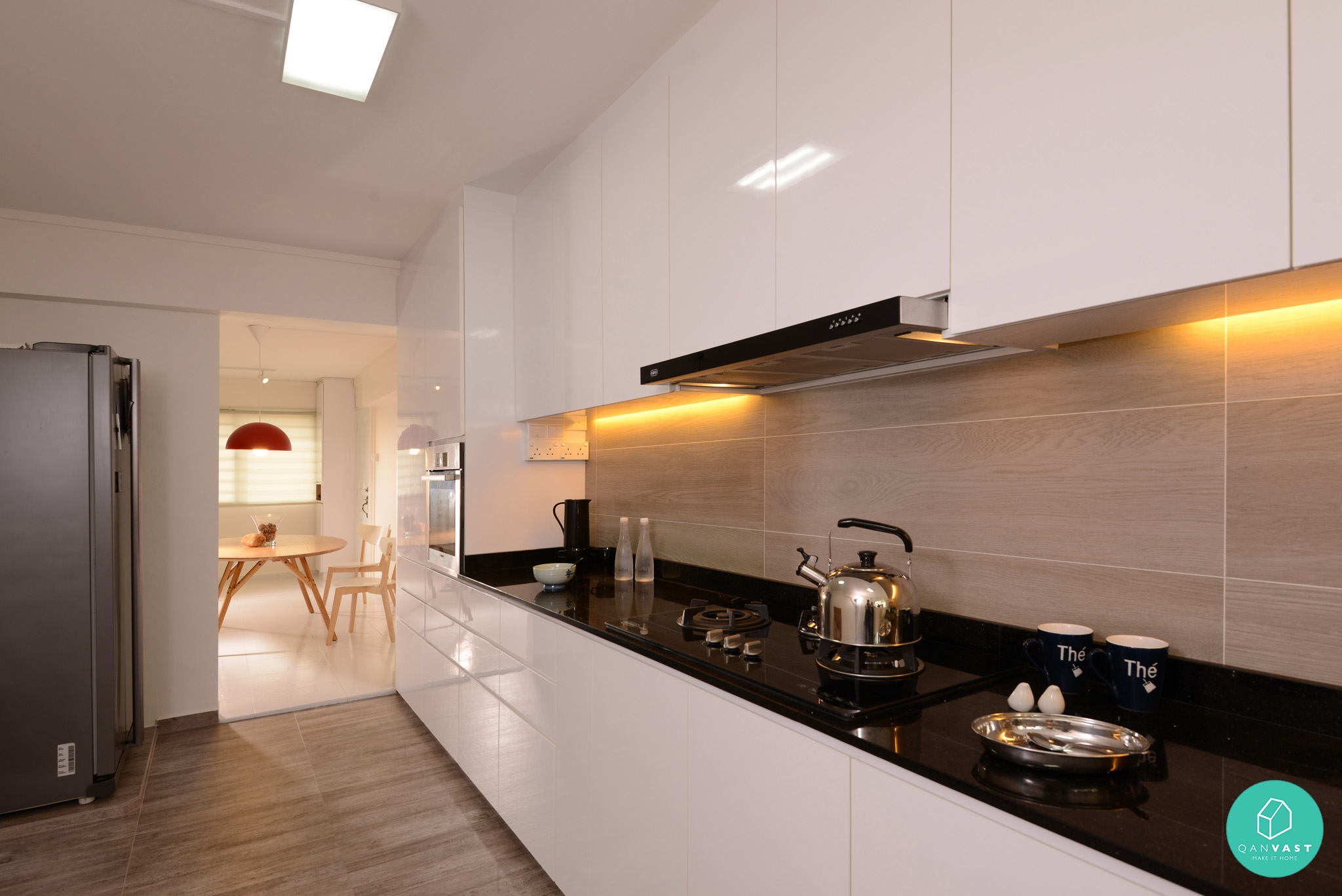 10 most voted hdb condo homes for Kitchen reno design