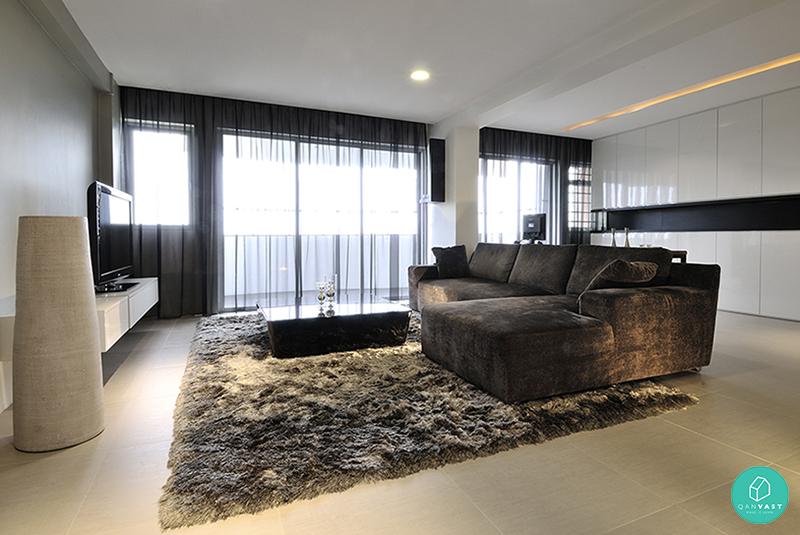 10 stylish minimalist home designs for your hdb condo for Minimalist interior design for small condo